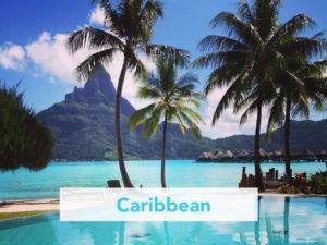 Caribbean turquoise ocean